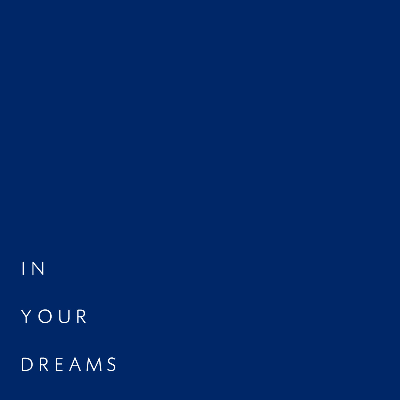 In Your Dreams - mich ruby