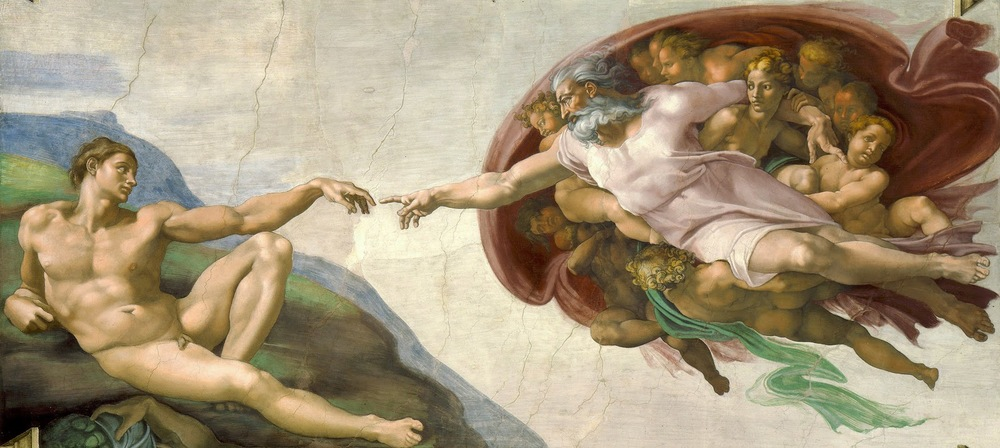 Creation of Adam - Michelangelo