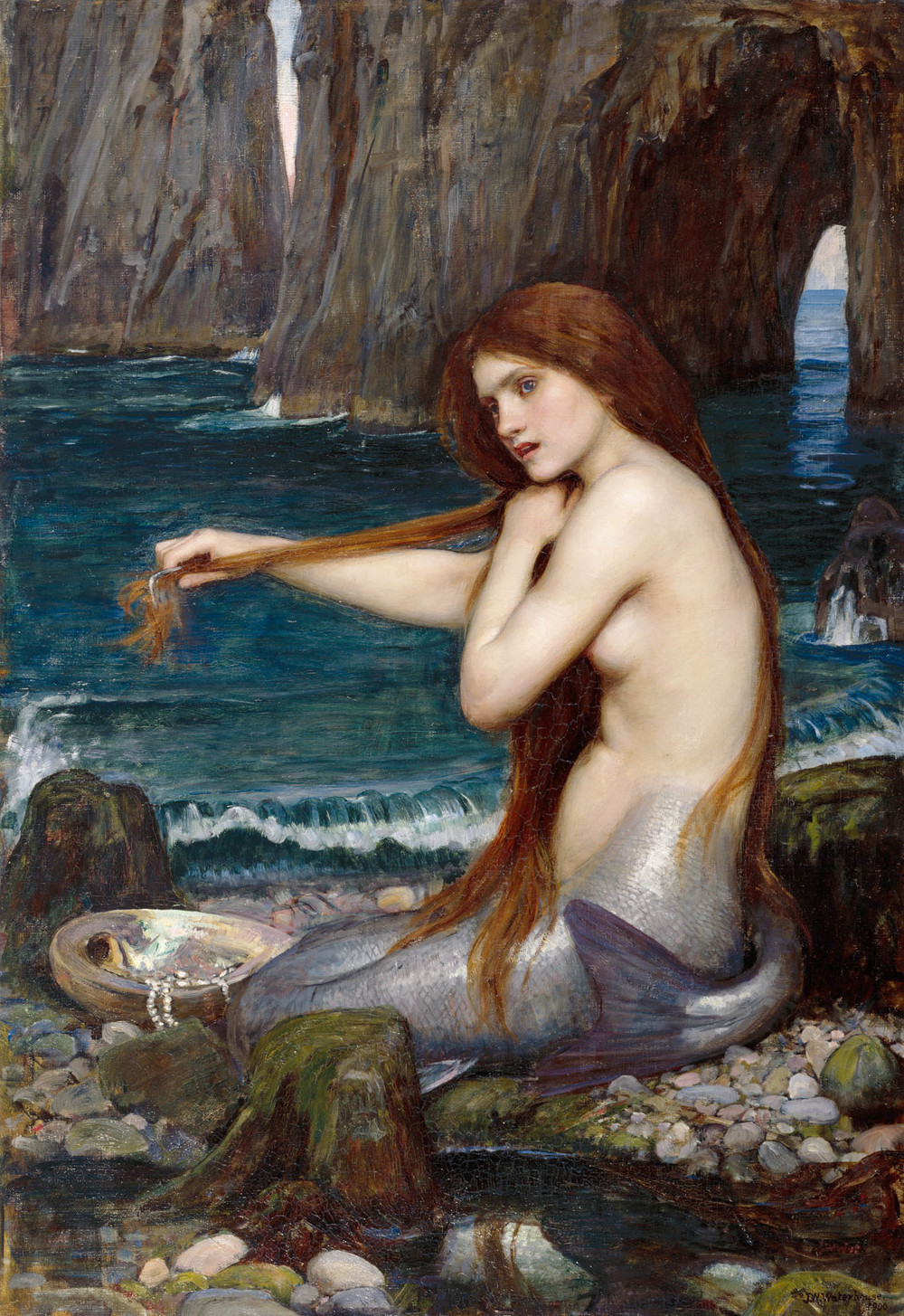 John William Waterhouse, A Mermaid, 1900, oil on canvas, ® Royal Academy of Arts, London, Photographer John Hammond