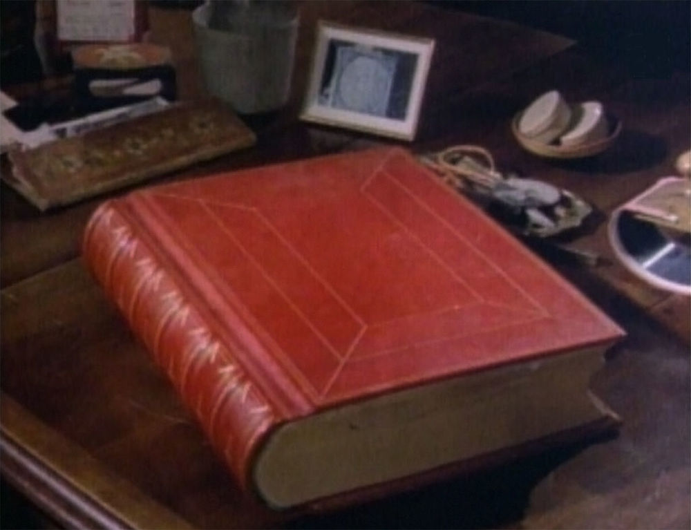 The Red Book resting on Jung's desk