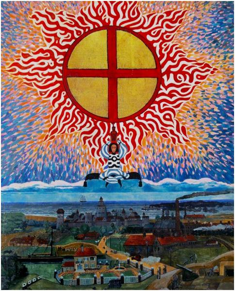 Firey Cross