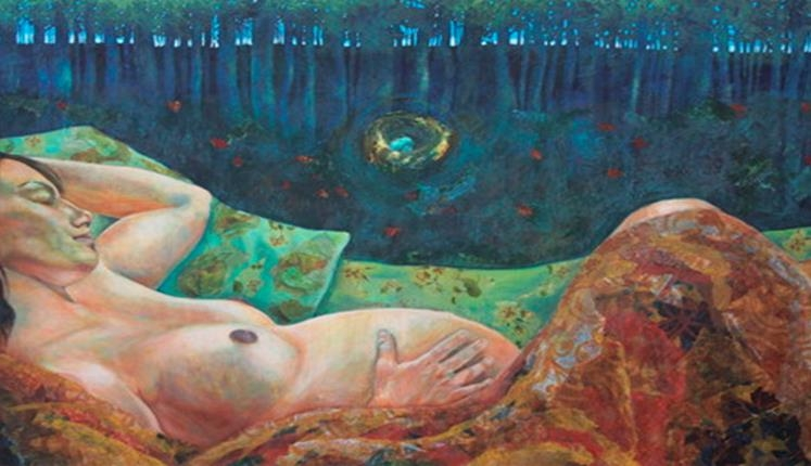 Fertility Goddess (2010) by Kari Lehr   www.karilehrart.com   Published with permission