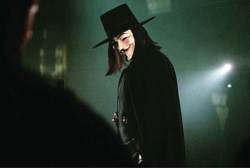 V for VENDETTA - OCTOBER 7