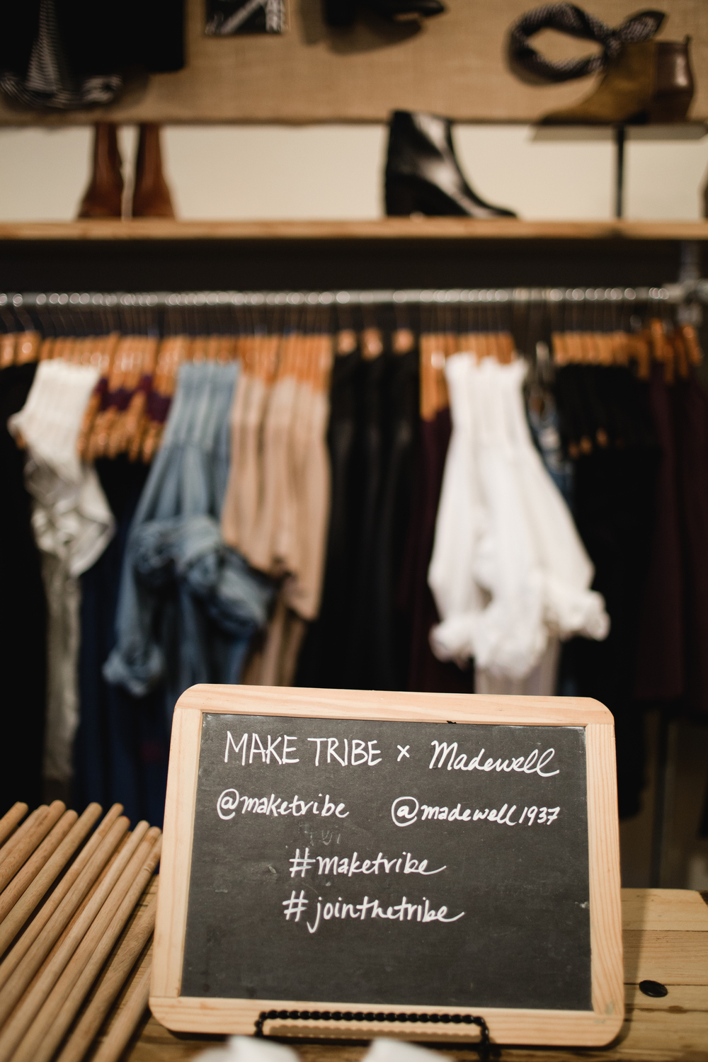 MAKE TRIBE x Madewell