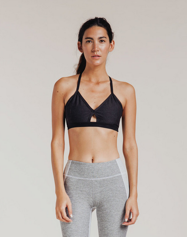 Outdoor Voices Steeplechase Bra Feed her hot yoga addiction with this too-cool-to-cover-up sports bra from rad NYC brand, Outdoor Voices.
