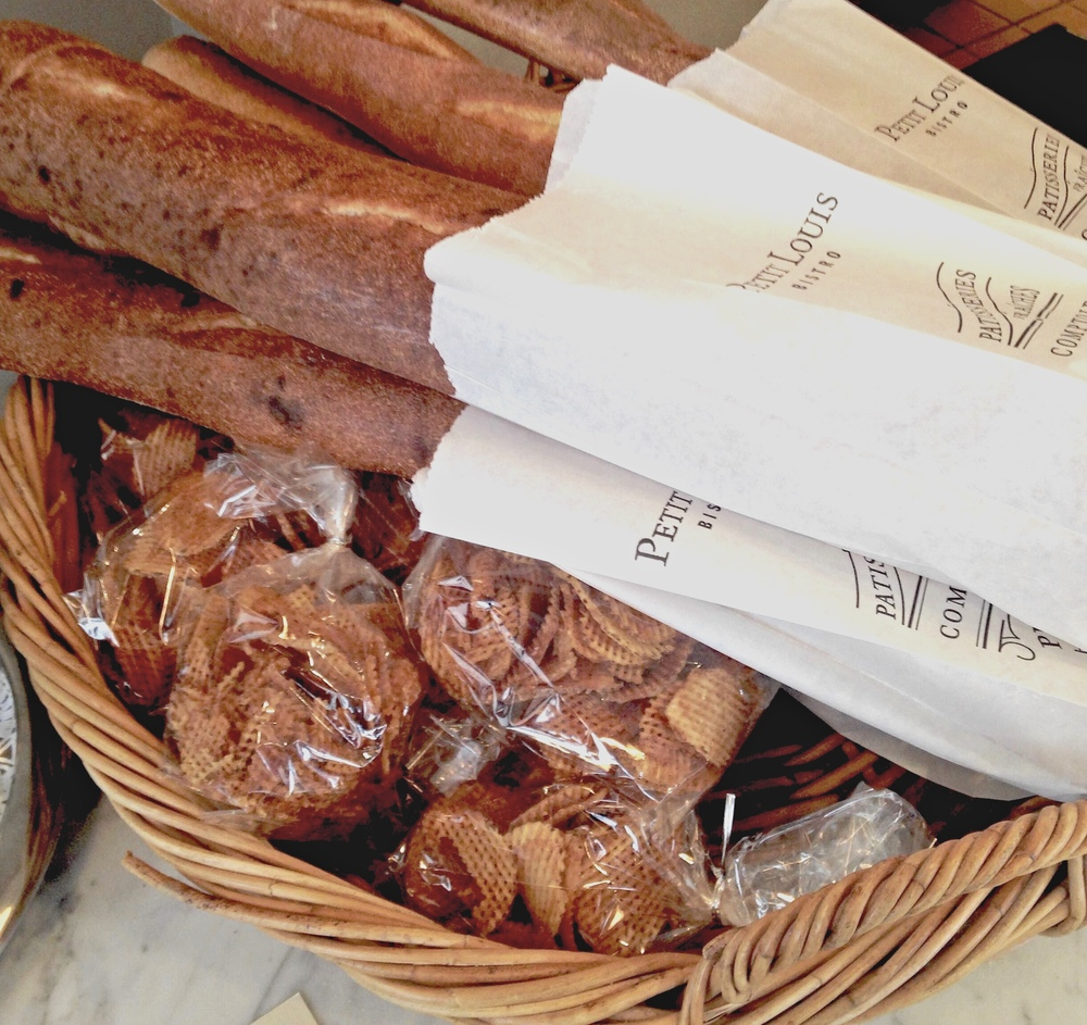 Carb crush. Forget the V-Day flowers. We want bouquets of baguettes! Photo by Jess Velky.
