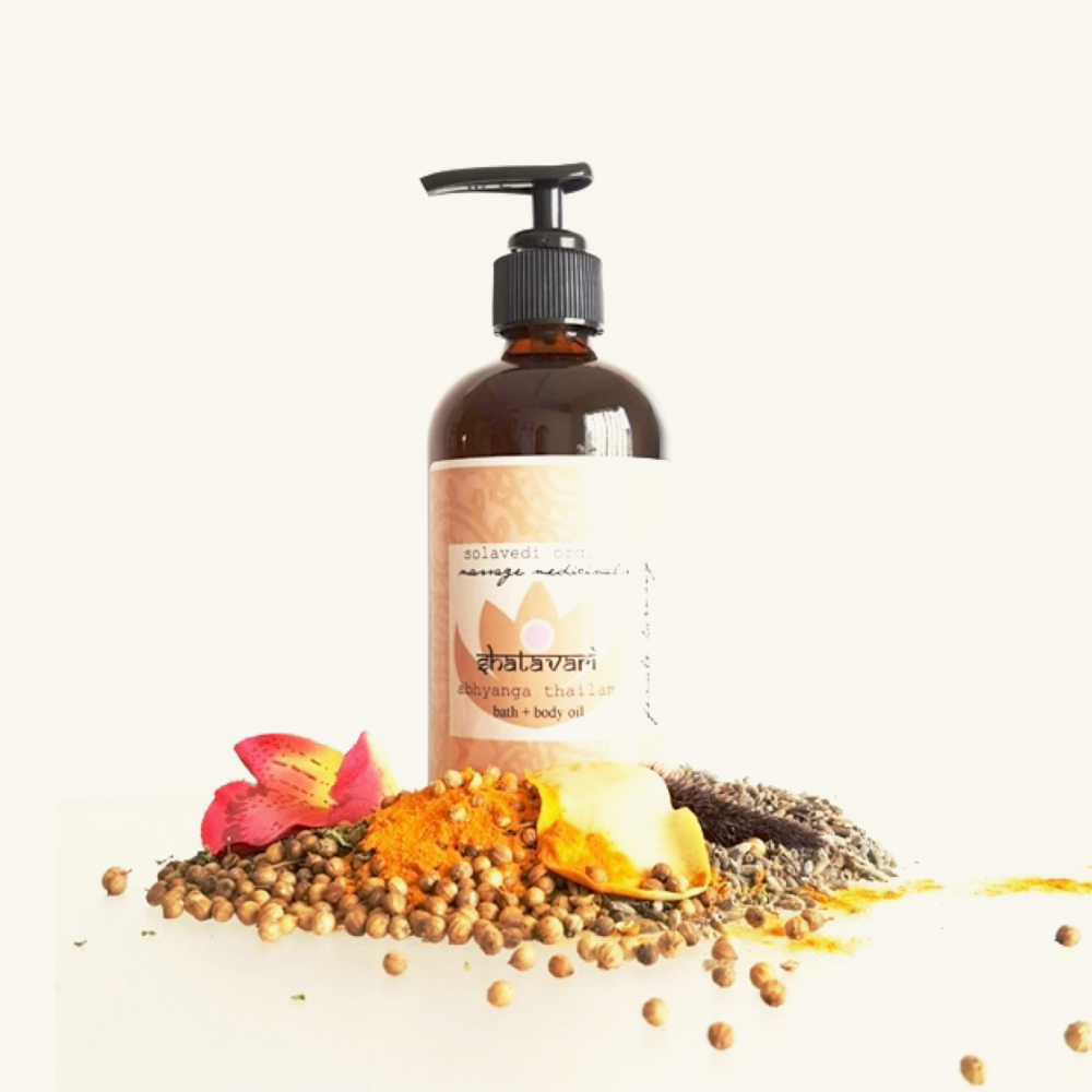 Solavedi Organics Shatavari Massage Oil