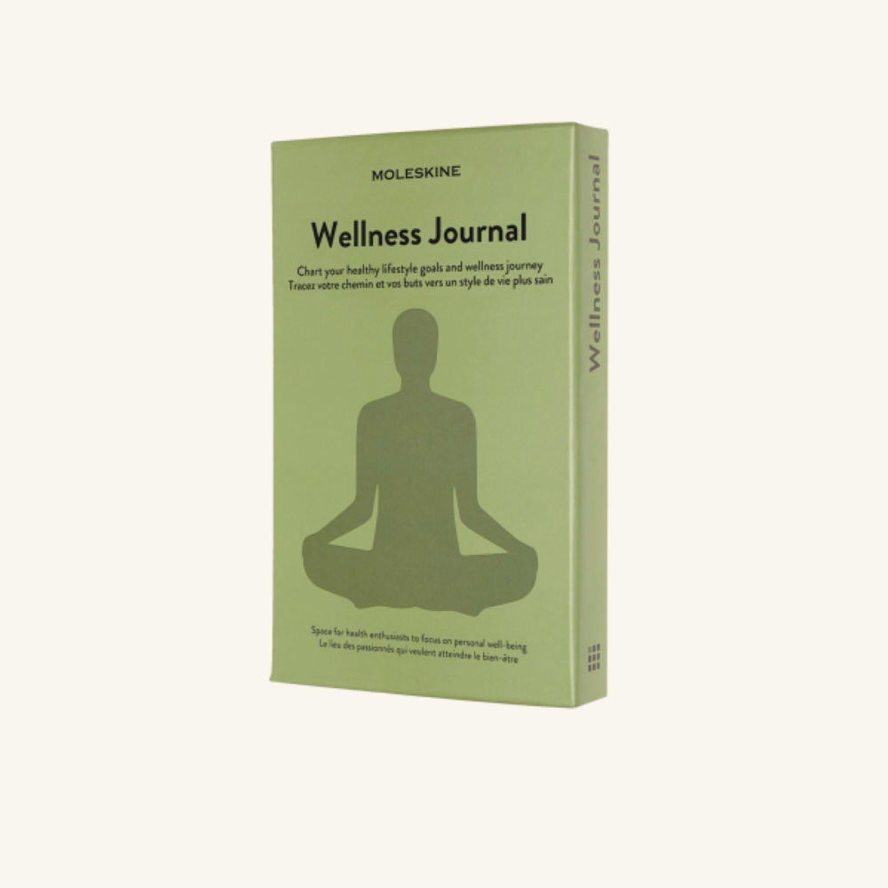 5. Ready for routine:   Moleskine Wellness Journal