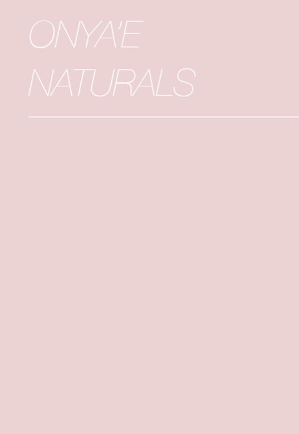 © Hannah Garvin | Onya'e Naturals