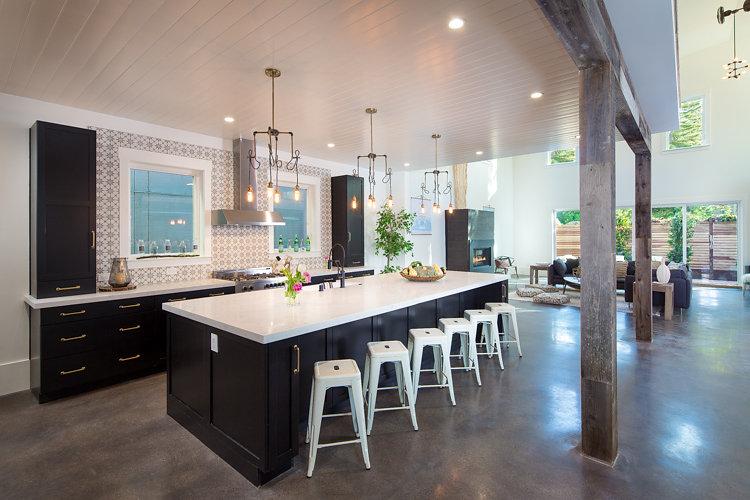 Bohemian Industrial Kitchen Renovation Design