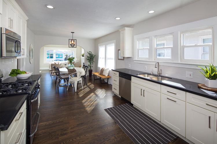 Updated Kitchen. 5514 Laverne Oakland CA 94605