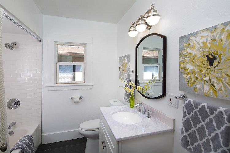Updated Bathroom. 5514 Laverne Oakland CA 94605