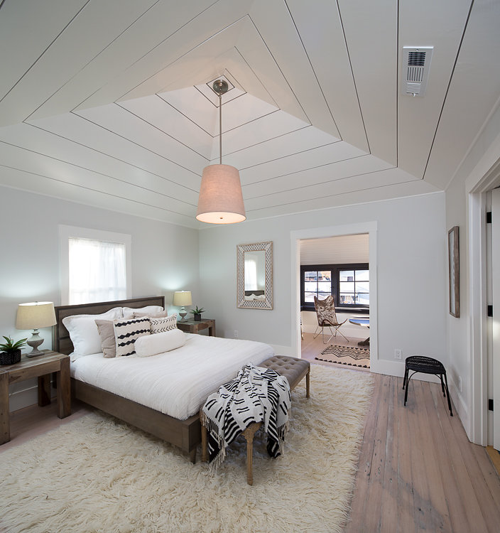 Berkeley Bedroom Design and Real Estate Staging