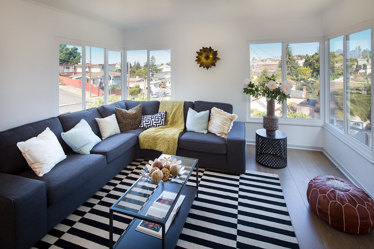 1710 E. 24th Street Oakland, Rose Garden, Renovated Mid-Century Home for Sale
