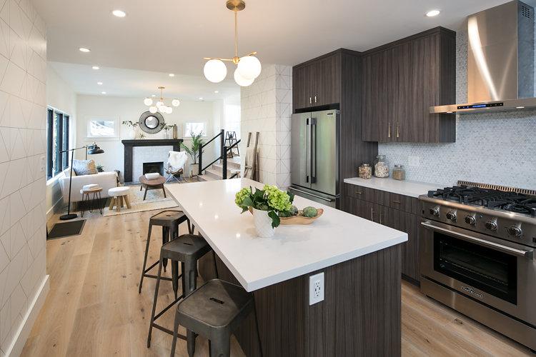 Clean Lined, Modern U0026 Naturally Chic Kitchen Design