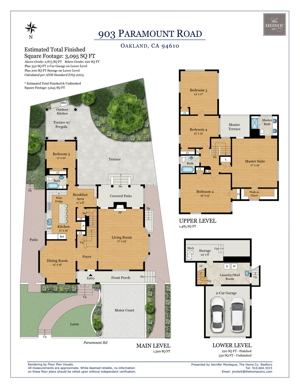 903 Paramount Road Oakland Floor Plan