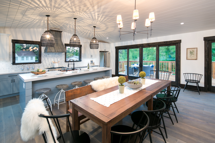 Lafayette Modern Farmhouse Kitchen Renovation & Addition