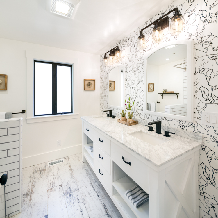 Lafayette Modern Farmhouse Bathroom Renovation & Addition