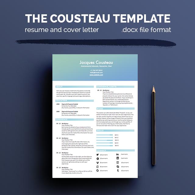 Resume Templates — Illustration & Design