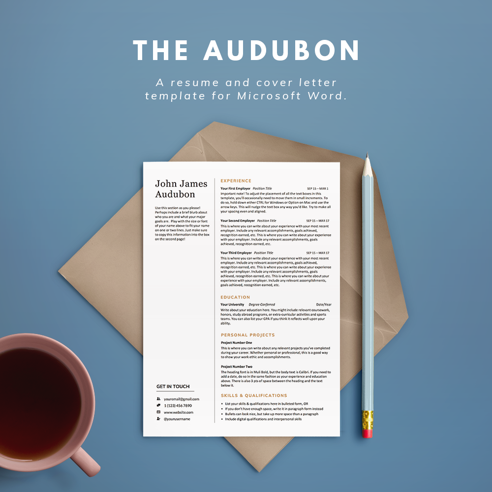 Proper Font Size For Resume Word Resume Templates  Illustration  Design Resume Related Coursework with Production Worker Resume Excel The Audubonpng Resume Cover Letter Template Free Pdf