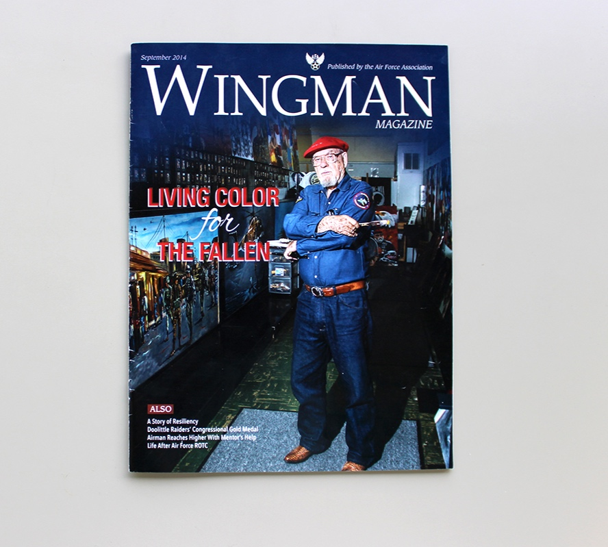 Cover Art Direction for Wingman Magazine