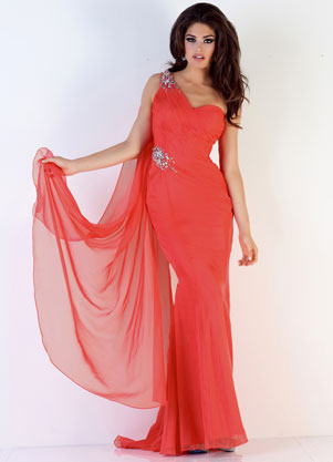 Xcite Prom #30458 size 10, in watermelon