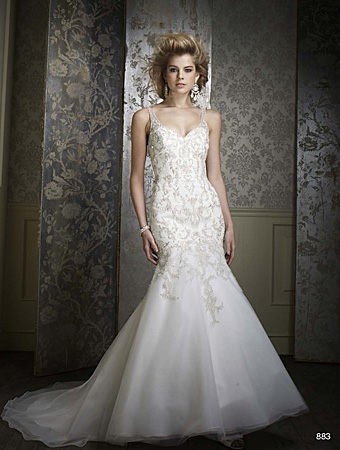 Alfred Angelo 883 Size ??