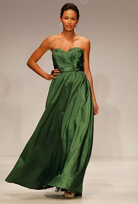 Alfred Angelo 7187 8 dk green
