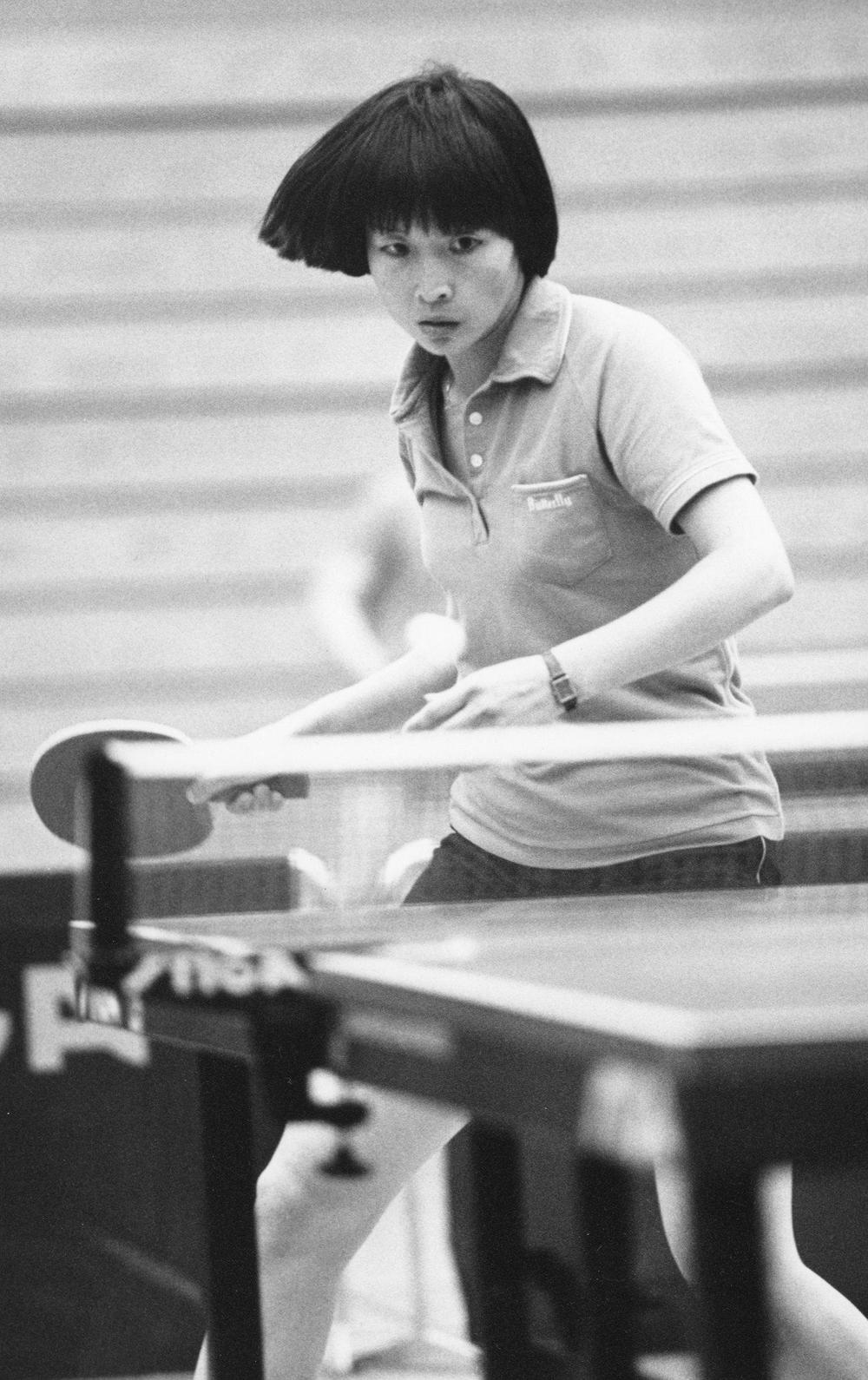 Insook Bhushan, a soft-spoken accountant in the Colorado Department of Military and Veterans Affairs budget office in Centennial, Colo., is actually a two-time Olympian and a U.S. national table tennis champion..