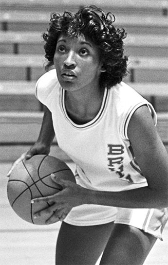 From the age of 11, Anita Ortega focused with fierce determination on UCLA as her ticket out of poverty in South Central Los Angeles. Once on campus, the first-generation college student made the basketball team as a walk on-and became an All American by helping to lead the UCLA women's basketball team to its first national championship. She went on to play in the Women's Basketball League and was an all-star for the San Francisco Pioneers. Later, the UCLA Hall of Famer joined the Los Angeles Police Department, earning the rank of Captain. She also became the first black female Area Commanding Officer in LAPD history.