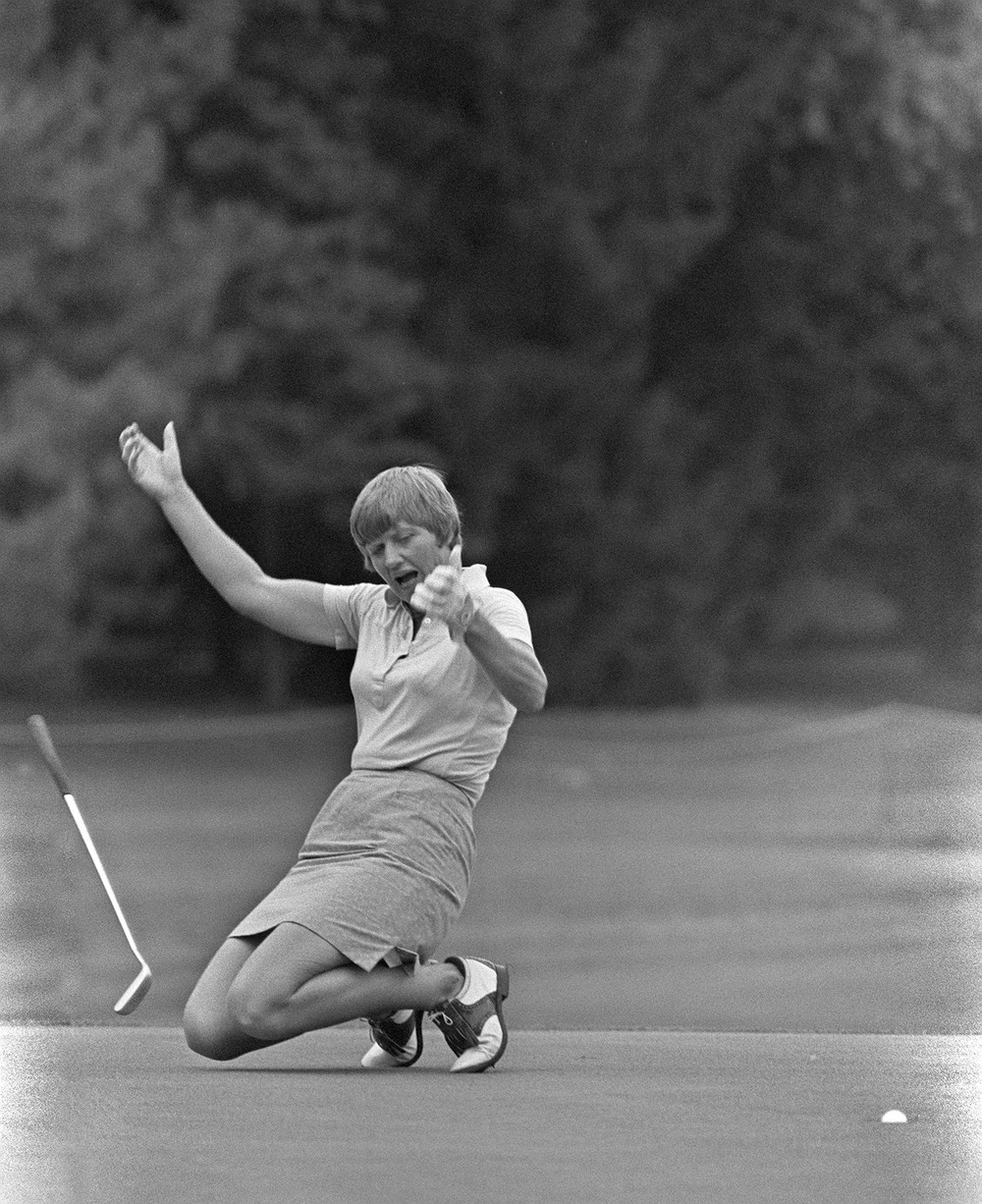 During her time on tour, Sandra Haynie won 42 LPGA tournaments. She won a career-best six tournaments in 1974. She was named LPGA Player of the Year in 1970, a year that saw her win two tournaments.
