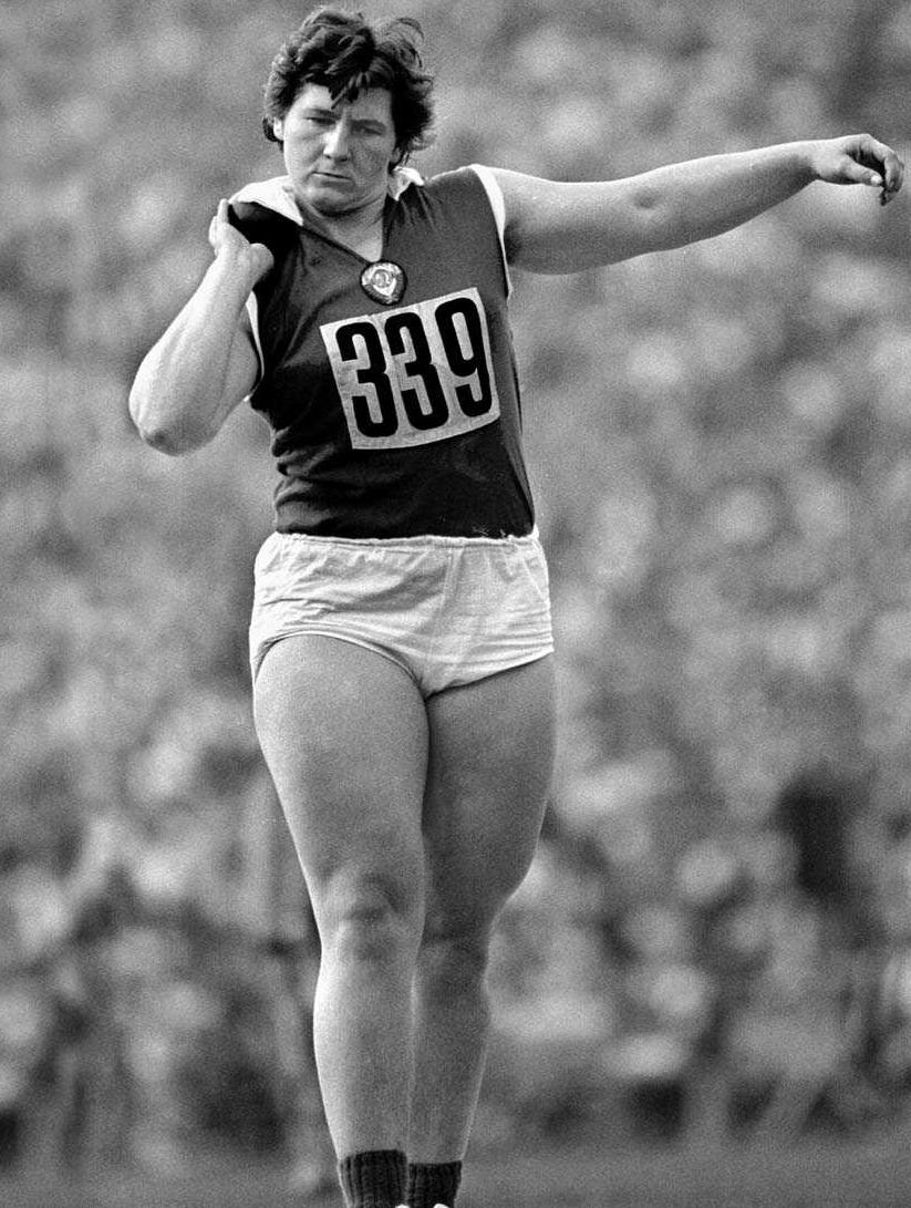 Margitta Gummel is a German former Olympic gold medalist. Unknown to her and most of her teammates she was put on the steroid Oral-Turinabol by the East German team physician Dr. Manfred Hoppner.