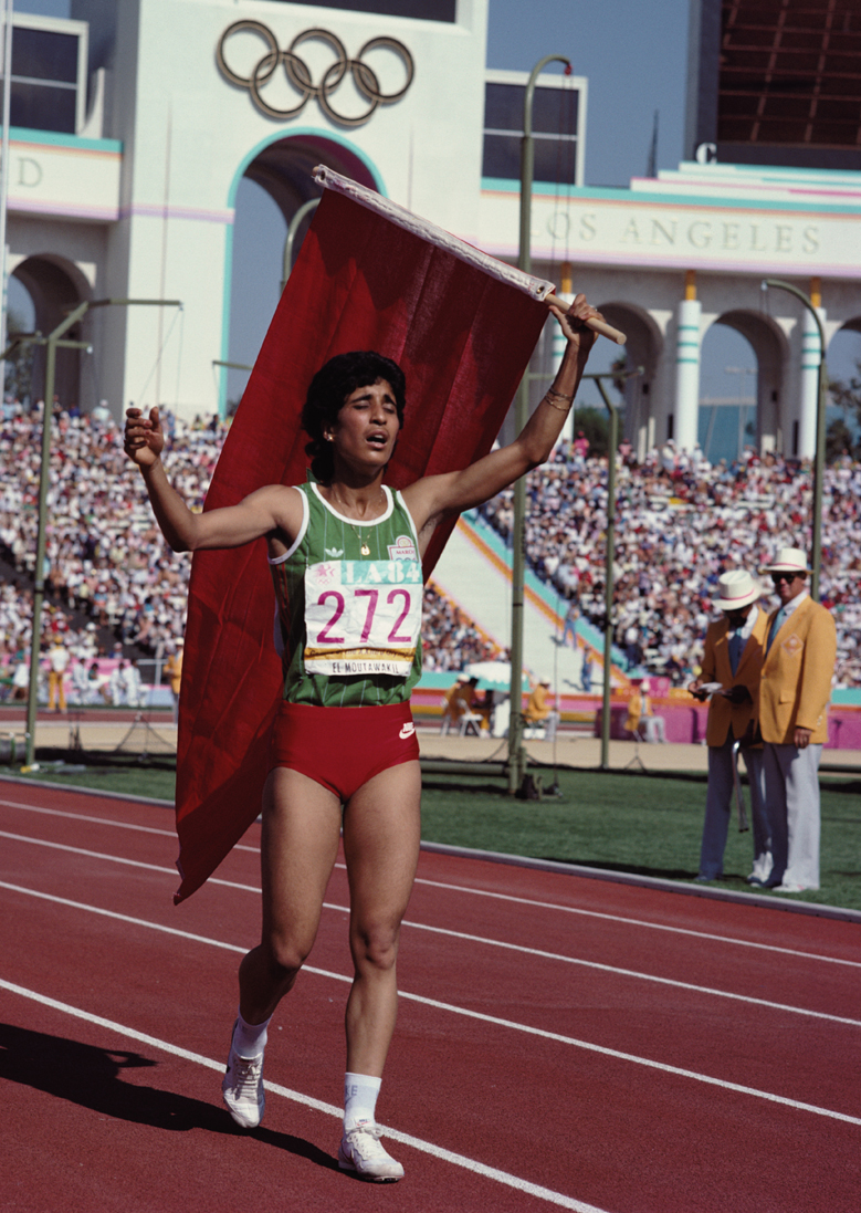 The first woman from a Muslim majority country to win an Olympic gold medal, Morrocan hurdler Nawal El Moutawakel shattered the misconceptions that Muslim and Arabic athletes could not achieve success in athletics. In the male-dominated Moroccan society, El Moutawakel has been a force of nature, spearheading the Moroccan Association of Sport and Development and encouraging women to find their voice through sport.