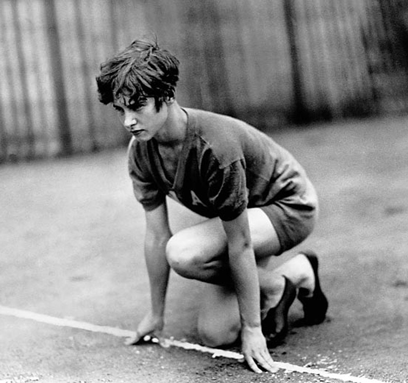 Winner of the first women's 100m Olympic dash in 1928. Presumed dead after a 1931 plane crash, Robinson was taken in the trunk of a car to a morgue before it was discovered she was still alive. After spending seven months in a coma, Robinson awoke and spent two years training before she was able to walk again. No longer able to kneel to compete in the 100m, Robinson participated as a member of the U.S. women's relay team at the 1936 Olympics, where they won gold.