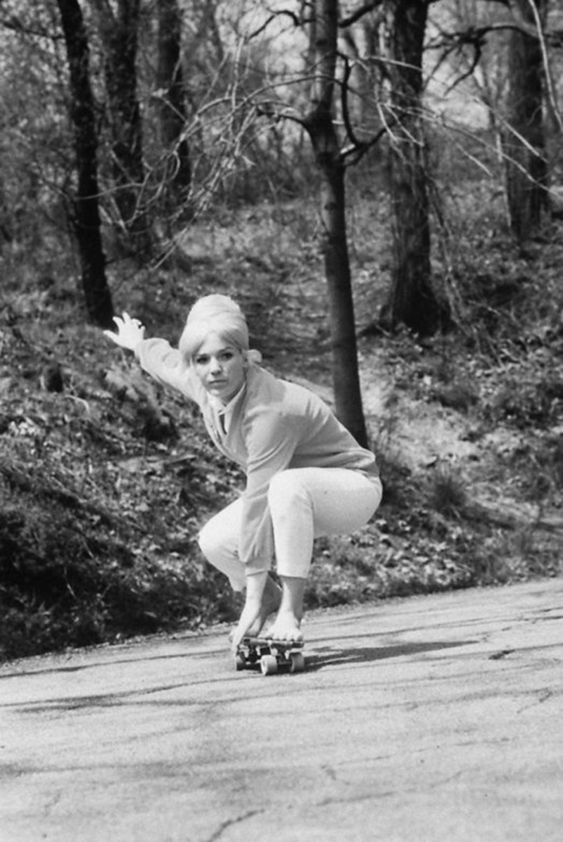 One of the original female pioneers of the sport, McGee was the first National Girls' Skateboarding Champion in 1965 and the first female pro skateboarder. McGee popularized the image of a woman on a skateboard, appearing on the cover of Life Magazine and The Johnny Carson Show.  After retiring from the sport in the early 1970s, McGee and her daughter now run The Original Betty Skateboard Company. In 2010, McGee became the first female inductee in the Skateboarding Hall of Fame.
