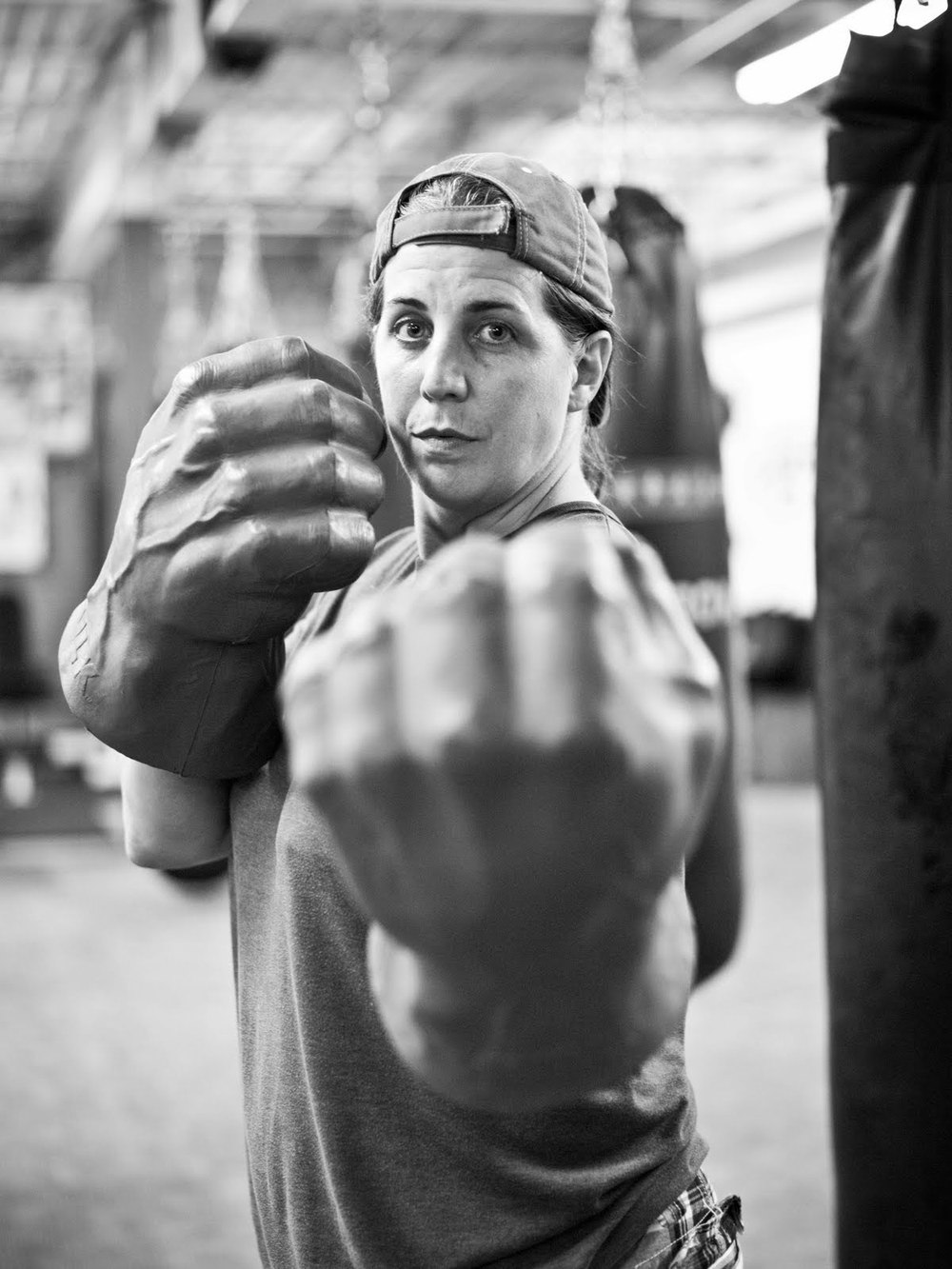 In 1993, Toronto based Savoy Howe participated in the city's first ever female boxing event.  Howe made headlines that same when she became the first out lesbian in women's boxing.  Howe started the Toronto Newsgirls Boxing Club in 1996 to introduce women to competitive boxing.  A role model in the LGBT community, she promotes the sport as an outlet for lesbians and transgendered people to receive support and feel empowered.  Howe currently operates the only all-female gym in Canada.