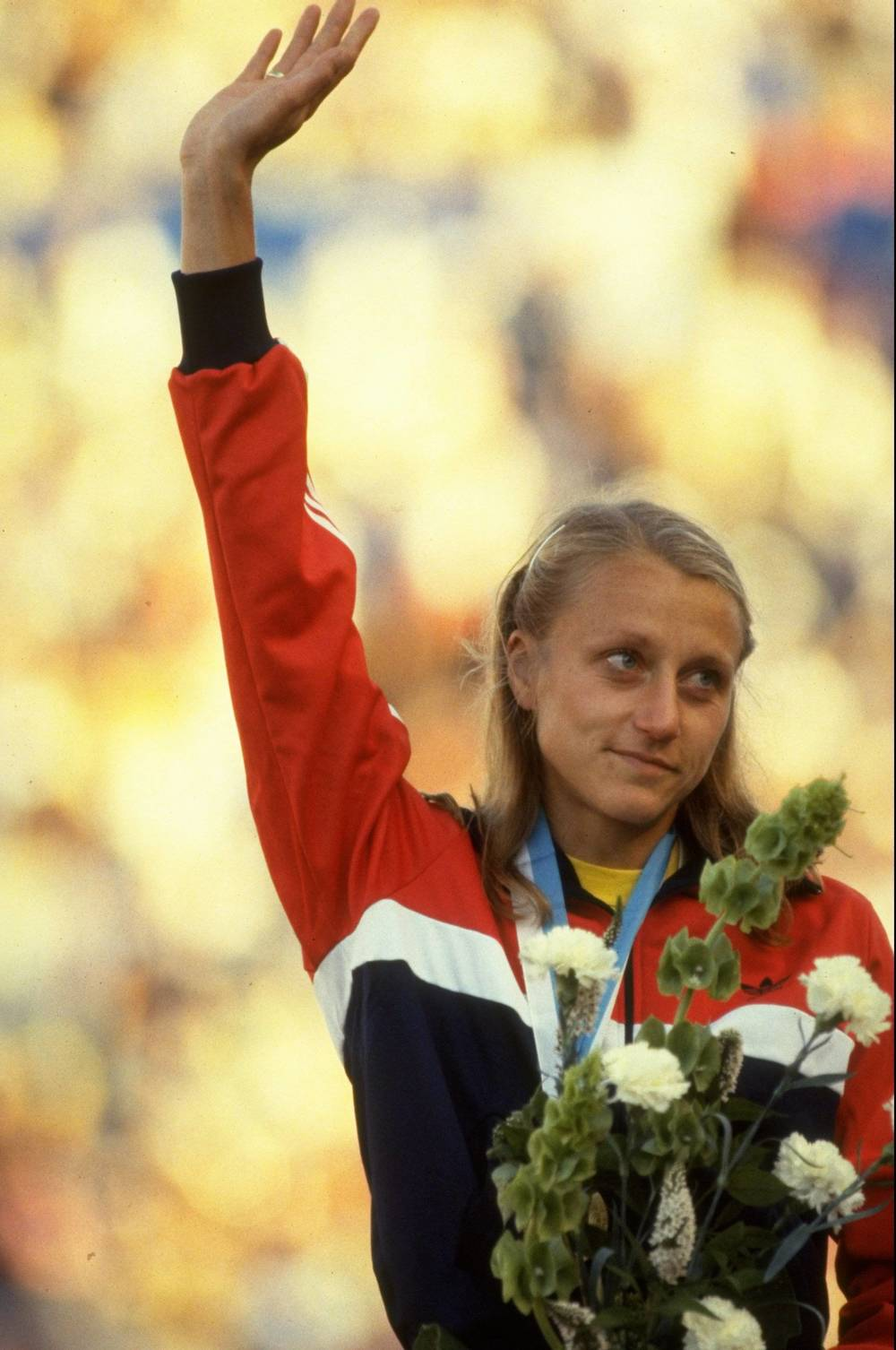 A nine-time winner of the New York City marathon, the Norwegian schoolteacher is credited with bringing women's distance running to an international stage. She set a world record in 1978 in her first NYC marathon, despite it being her first time running the full 26.2 miles. A pioneer of the sport, Waitz organized races, worked as a running coach and a community advocate. In 2007, she created the Active Against Cancer foundation, to sponsor runners and race money for cancer treatment. Waitz passed away from the disease in 2011.