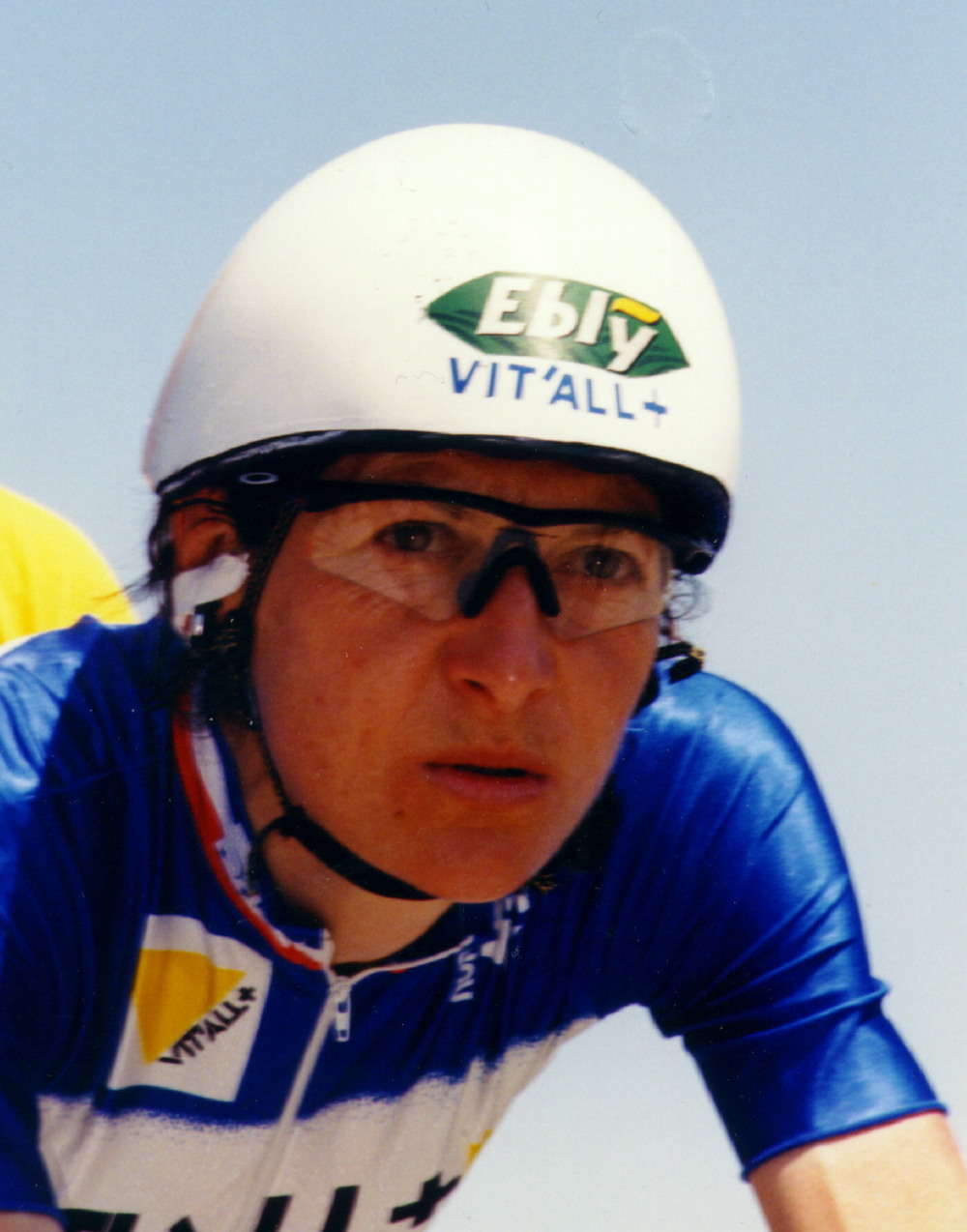 Jeannie Longo is a French racing cyclist, 59-time French champion and 13-time world champion. Longo is still active in cycling as of 2011 and is widely considered one of the greatest female cyclists of all time.