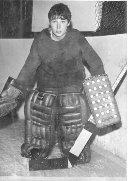 Karen Koch was the first professional female hockey player in North America.Ultimately though her career would be brief.  She signed a contract for $40 per game which made her the first professional female hockey player in North America She would be cut with 10 games left in the season with the official reason that she refused to wear a protective goalie mask.