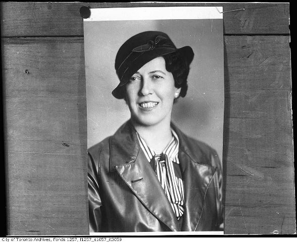 "Athletically gifted Alexandrine Gibb was a member of many Toronto sports teams, including playing left guard for the Toronto Ladies' Maple Leafs basketball team.  An advocate for women's athletics, Gibb lobbied for women to have equal access to sports facilities and was elected President of the Ladies' Ontario Basketball Association and the Toronto Ladies' Athletic Club.  In 1922, Gibb became the only female on the Canadian Amateur Basketball Association's Executive Council, serving as Vice President.  She was chosen to be the manager of the Canadian women's Olympic team in 1928, due in part to ""being an outstanding figure in ladies' sports"".  The team of six women took home four medals during the Olympics.  That same year, Gibb started working for the Toronto Daily Star, writing a daily column devoted to women's sport.  Her popular column, ""No Man's Land of Sport"", ran for twelve years, during which time she became the assistant sports editor at the paper and ""the most well known women's sports advocate in Canada"".  She is credited with persuading Marilyn Bell to swim across Lake Ontario and received a special thank you from Bell upon completing the swim.  Gibb continued to write for the Toronto Daily Star until her passing at age 66 from a heart attack."