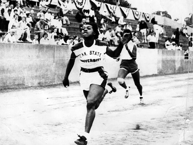 "Martha Hudson, Olympic track and field gold medal winner and Amateur Athletic Union (AAU) All-American, was born March 21, 1939, in Georgia. The oldest of three children of a truck driver and a housewife, Hudson began her athletic career as guard for her elementary school basketball team. She loved to race and often beat the neighborhood boys. At Twin City High School a physical education teacher noticed Hudson's natural running ability and encouraged her to concentrate on track instead of basketball. Although her basketball team elected her captain, Hudson began to train and compete for track. At the Tuskegee Relays in Alabama, Hudson, who was only 4 feet 10 inches tall, caught the eye of Edward Stanley Temple, a track coach at Tennessee State University in Nashville for forty-four years. At Temple's invitation, Hudson took part in his summer track clinics from 1955 through 1957, outrunning some of the legendary coach's Tigerbelles. In 1957 she graduated from high school as salutatorian of her class, and she accepted a scholarship to Tennessee State. While at TSU, Hudson (nicknamed ""Pee Wee"" by a teammate) won the national AAU 100-yard dash, set the 75-yard dash record, and came in second in the 50-yard dash. One of her biggest wins came during the 1960 Olympic Games in Rome, Italy, where she ran the first leg of the 400-meter relay against competitors who were all at least six inches taller than she. Hudson and the three other Tigerbelles on the American relay team won the gold medal.Upon returning to the United States, Hudson was treated to a tremendous homecoming. In the TSU auditorium the mayor of Nashville and the governor of Tennessee welcomed the gold medalists. Joking about her stature, Hudson told the large crowd,  ""I doubt if ever so much depended on so little,"" drawing cheers and laughter from the stands."