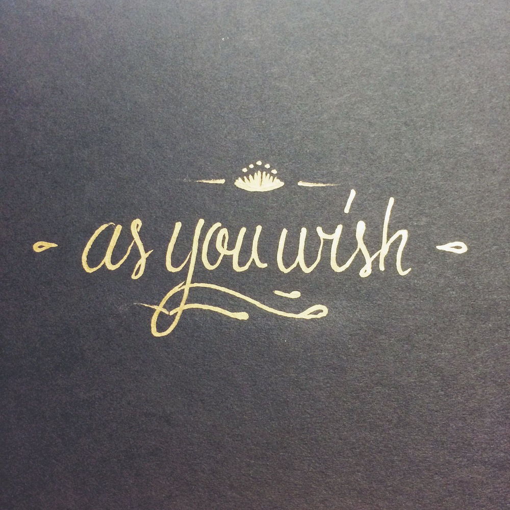 As You Wish by Thomas Price