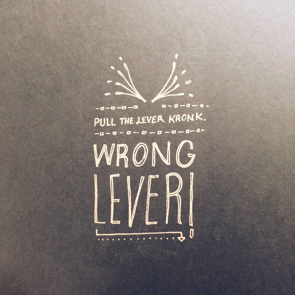 Wrong Lever by Thomas Price