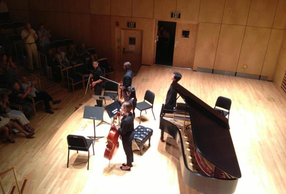 Bowdoin International Music Festival, Brahms Quintet.