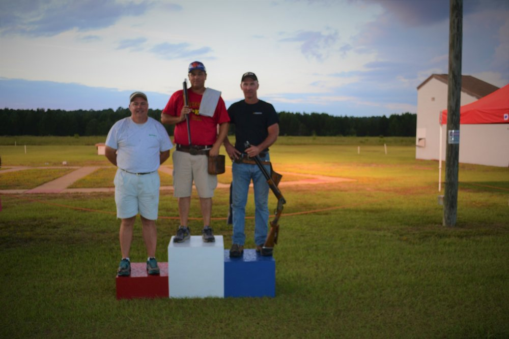 20 ga winners: Champion - Craig Kirkman (100), Runner-up - Stuart Brown (100), and 3rd - Chip Simmons (100).