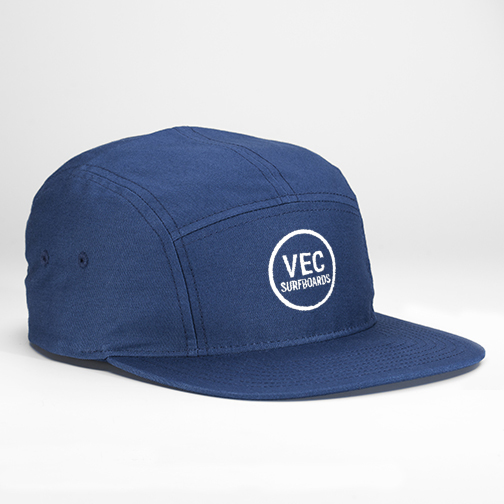 Slate 5-Panel Camp Hat — Vec Surfboards 22752d73359