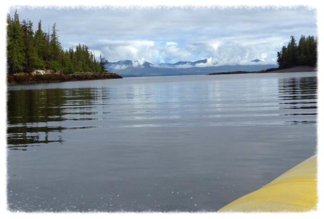 Heading toward northwest of Betton Island on the Seahawk