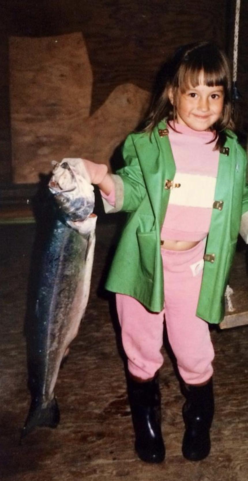 Proud fishergirl!