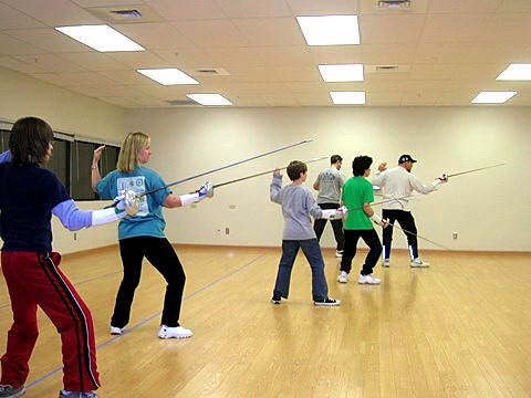 We have worked with more than 20 organizations throughout the region to provide beginning and intermediate fencing classes to hundreds of enthusiastic kids, teens, and adults.