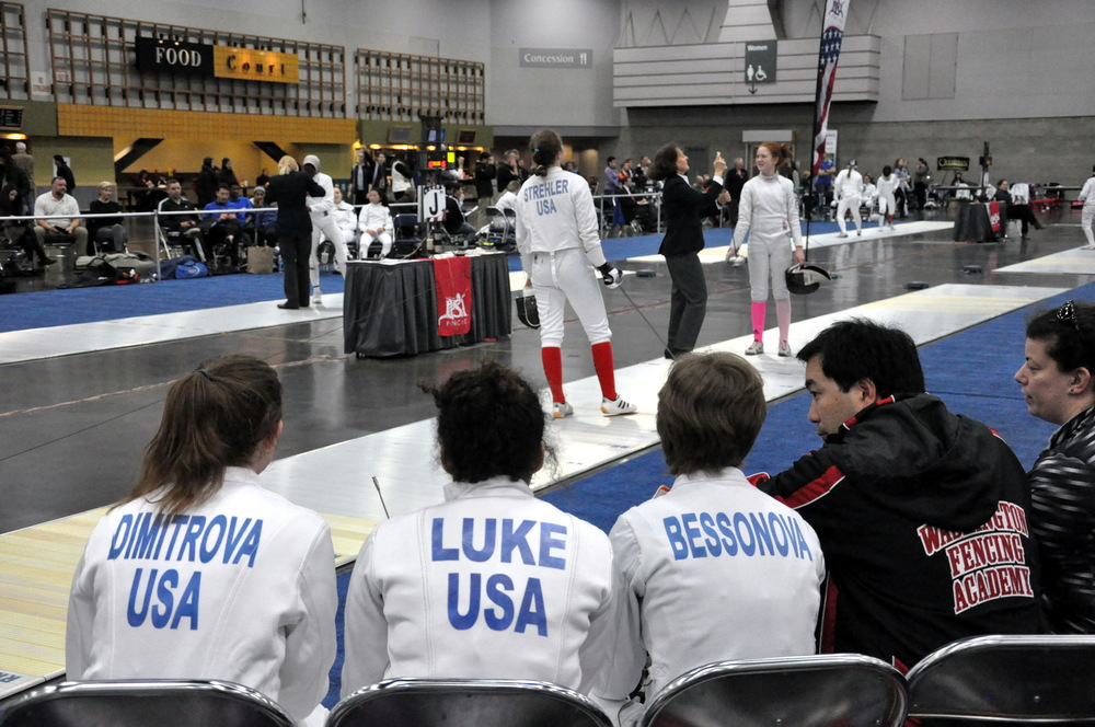 Fencing is a sport enjoyed by all ages, with many diverse programs and competitive events. Photo by John Comes.